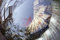 1stst2 (Peter Rea 13) Tags: architecture manchester experimental streetphotography fisheye multipleexposure