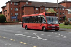 Hinckley Bus (Arriva Midlands) 2555 W291EYG (Andy4014) Tags: bus solo hinckley optare arrivamidlands w291eyg