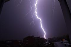 Lightning (very close) (X_eON) Tags: storm rugby lightning thunder warwickshire