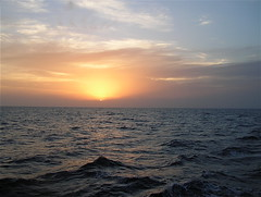 Sunset on the Red Sea (The Spirit of the World) Tags: cruise sunset sea seascape water waves redsea middleeast waterway waterscape crossingtheredsea rememberthatmomentlevel4 rememberthatmomentlevel1 rememberthatmomentlevel2 rememberthatmomentlevel3