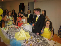 Reyna Amarilis Molina Martinez, Kenia Nunez Leon, Nya Jimenez, Gustavo Izaguirre, Audrey Izaguirre Nunez at Quinceañera party (RYANISLAND) Tags: birthday family girls girl 14 15 birthdayparty spanish espanol latin latino hispanic latina 2014 quinceañera