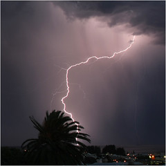 Fremantle lightning (beninfreo) Tags: storm indianocean australia western lightning fremantle fremantlehospital