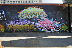 KRASH, SEAR, GOSER (STILSAYN) Tags: california graffiti oakland bay east area krash 2014 sear goser