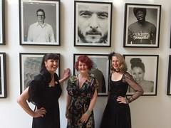 Shellac Sisters gramophone dj at Sadler's Wells Theatre London (The Shellac Sisters) Tags: music london sister