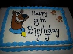 Scooby Doo cake by Debbie, Linn County, IA, www.birthdaycakes4free.com