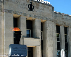 Obion Flame (Dalmdad Landscape Photography) Tags: county tennessee flame courthouse unioncity eternal dalmdad obion