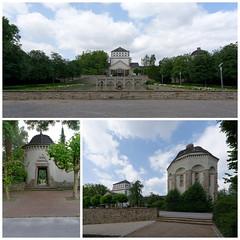 Hauptfriedhof Dortmund (Namtra) Tags: collage dortmund arnohartmann hautfriedhof