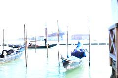 Venetian dream (nani86) Tags: venice italy sun nikon italia dream gondola venezia