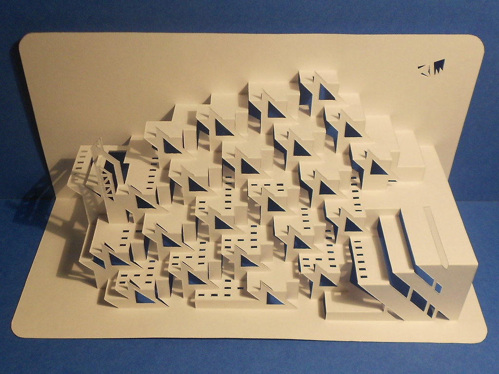 Worlds Photos Kirigami Origamicarchitecture Flickr Hive Mind