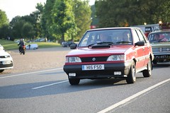 FSO GLi (kenjonbro) Tags: uk red car olive caro gli 1995 engand brandshatch fso austinmaxi polonez westkingsdown worldcars kenjonbro fsocars fabrykasamochodówosobowych lpu457j canoneos5dmkiii 1481cc canonzoomlensef9030014556 summertimewednesday brandshatchsummerwednesdays h15fso fsocarogli