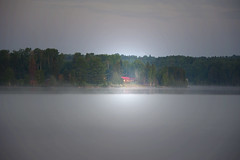 Light in the Fog (HOARYHEAD) Tags: ontario fog lakeeva nikond700 campquetico nikon28300mm nearatikokanontario