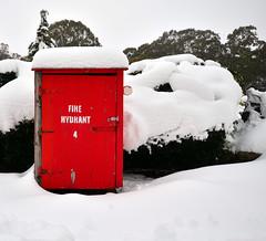 Mt Buffalo Chalet (phunnyfotos) Tags: winter red snow nikon 4 australia victoria firehydrant alpine chalet vic mountbuffalo alpinenationalpark northeastvictoria mtbuffalo d5100 nikond5100 phunnyfotos