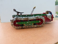 Ransomes MG crawler tractor  15 (Elsie esq.) Tags: model meccano crawler mg2 ransomes