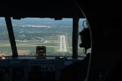 DSC_4306 (Proplinerman) Tags: ontario aircraft hamilton cockpit beech airliner c45 expeditor beech18 propliner cgzce