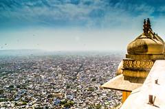 Jaipur City (Sumit-Gupta) Tags: city sky india nikon fort 1855mm jaipur rajasthan d5100 nikond5100