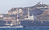Incursion (tony.evans) Tags: sea rock ferry plane marine ship dolphin vessel container bunker dolphins catamaran airbus a380 gibraltar britishairways tanker levante straitofgibraltar bayofgibraltar guardiacivilstraitride straitride yachtbunkering
