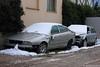 Maserati Quattroporte - Audi S6 Avant (Alessio3373) Tags: abandoned graveyard scrapyard scrap abandonedcar maseratiquattroporte abandonedcars scrappedcar scrappedcars audis6avant