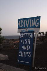 Diving... Fish & Chips