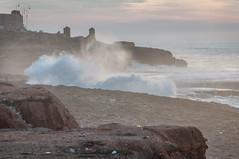 DSC_8959 (heat_fan1) Tags: ocean africa travel sunset vacation coast honeymoon day cloudy atlantic morocco rabat