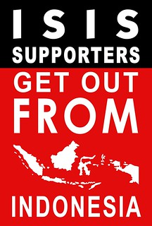 ISIS Supporters Get Out From Indonesia !!!