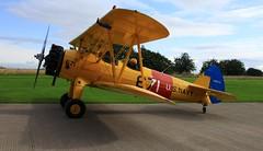 G-CGPY Boeing Stearman at Strathaven Airfield. (IMG_3076) (Robert G Henderson (Romari).) Tags: scotland august airfield 2014 lanarkshire strathaven