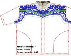 baju-koko-goeminfo617 (bajumuslim) Tags: embroidery stitches designs es baju embroidered embroider wilcom bordir embroiderydesigns bajukoko bajumuslim