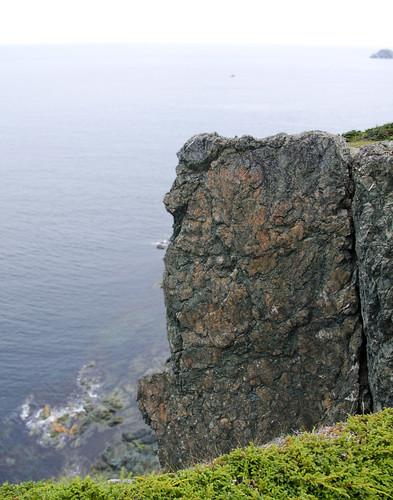 Cliffs at Long Point Light