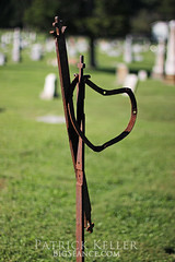 Rusted and Neglected Metal - St. Peter's Cemetery, St. Charles, MO