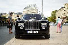 Rolls (3KP) Tags: auto black france english cars car de la noir place bordeaux rolls phantom royce noire aquitaine comdie gironde supercarinbordeaux