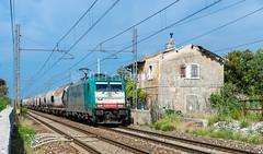 483.005 (atropo8) Tags: italy train nikon merci zug cargo treno freight trieste rtc opicina cereali railtractioncompany d7000 visogliano 483005