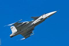 Saab JAS-39 Gripen (Sbastien Locatelli) Tags: canon airplane eos is force sweden aviation air 14 jet meeting swedish 300mm airshow 7d planes l usm jas saab 39 ef f4 forces avion payerne 2014 arien suisses ariennes 100ans sbastienlocatelli