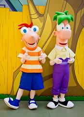 Phineas and Ferb (Storybook.Destinations) Tags: world canon florida disney disneyworld wdw dslr waltdisneyworld walt dhs phineas waltdisney ferb disneyhollywoodstudios