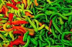 Chilis (hejohnson77) Tags: red green turkey nikon market antalya chilis fethiye d5000