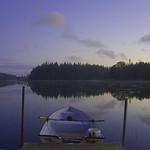 ein See in Schweden beim Sonnenuntergang 2 thumbnail