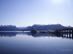 lago Nahuel Huapi (Silvina Menna) Tags: argentina lagos sur celeste silvinamennafotografia silvinamenna