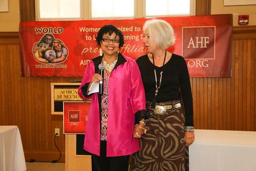 AHF/WORLD Affiliation Celebration