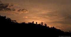 Atardecer Aguadas (Ivan Mauricio Agudelo Velasquez) Tags: sunset cloud mountain rural atardecer contraste campo casas nube caldas montaa