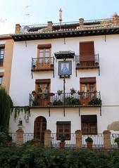 Granada - Andalusia (Kristel Van Loock) Tags: city houses windows town casa spain espanha europa europe case andalucia espana granada andalusia grenade andalusien espagne spagna spanje andalousie espagna fentres andaluzia andalusi