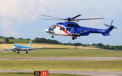 Bristow Helicopters Eurocopter EC-225LP Super Puma Mk2+ G-ZZSC Hold (Mark 1991) Tags: aberdeen bristow eurocopter superpuma abz aberdeenairport ec225 bristowhelicopters gzzsc