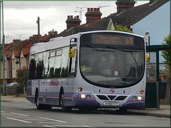 First 69432 (AU58 FFV) (Colin H,) Tags: england urban bus eclipse volvo town centre first service wright eastern 60 ipswich counties 2014 fec ibp ffv expr au58 b7rle ipswichbuspage au58ffv colinhumphrey firstipswich