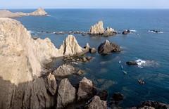 Las Sirenas del Cabo de Gata (felipemadroal) Tags: sea summer spain almeria cabodegata lassirenas