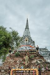 Wat Phu Khao Thong (Jimmy Chuah) Tags: trip vacation holiday thailand temple bangkok ayutthaya 2014 watphukhaothong