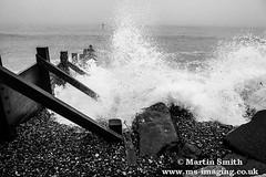 IMG_6338 (martinsmith99) Tags: water seaside waves norfolk shoreline pebbles sheringham beech