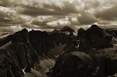 Other side (AndreaPizzato) Tags: italy white mountain black alps nature clouds landscape nikon peak dolomites 18105 d90 andreapizzato