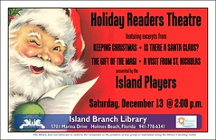 Island Players Holiday Readers Theatre @ the Island Branch Library (Manatee County Public Library) Tags: county library libraries manatee govt manateecounty manateecountypubliclibrary manateecountypubliclibrarysystem manateelibrary manateecountylibrary librarycalendar mcpls manateecountygovernment wwwmymanateeorg