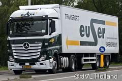 Mercedes Actros  EUSER  150613-0334-c4 JVL.Holland (JVL.Holland John & Vera) Tags: netherlands canon europe transport nederland zuidholland vervoer euser mercedesactros jvlholland