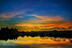 6/16  (chentgo) Tags: sunset  settingsun    ironrailway
