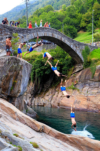 Verzasca cliff diving