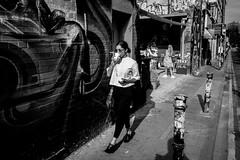 Girls Of Brick Lane (maxgor.com) Tags: bw blackandwhite bricklane city coffee england europe london maxgor maxgorcom mono olympus olympuspenf people rawstreets street streetphotographer streetphotography streetphotographybw streetshooter uk urban  unitedkingdom gb