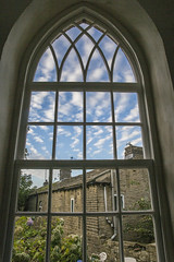 New window view (jackharrybill) Tags: haworth oldschoolroom window brontes westyorkshire
